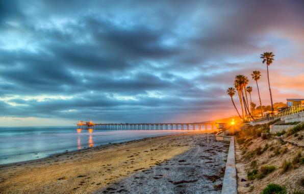 A beach in San Diego, California