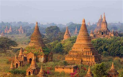 Myanmar, formerly Burma