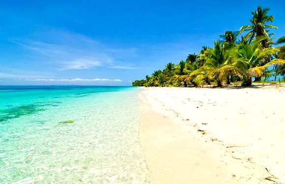 A beach in Cebu province, Philippines